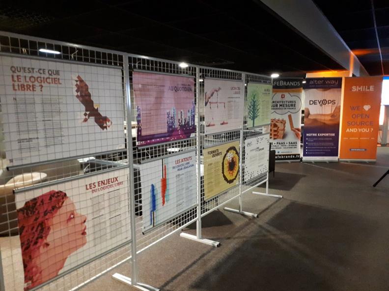 Expo Libre au devopsdday / libday